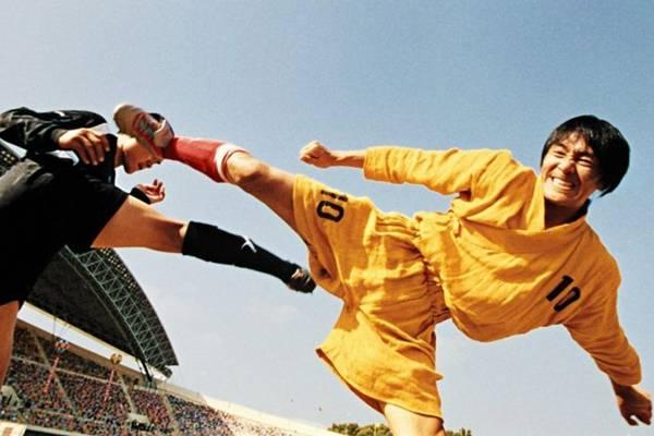 Kung fu futebol clube mostra que, na Ásia, não tem só artes marciais  (Netflix/Divulgação)