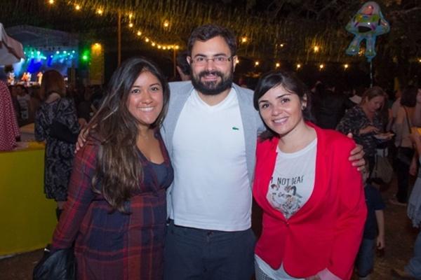 Andressa Furtado, Isaac Pamplona e Monique Furtado (Romulo Juracy/Esp. CB/D.A Press)