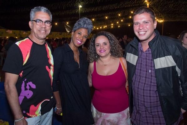 Marcelo Valério, Andréa Leite, Aline Freitas e Marcos Paulo (Romulo Juracy/Esp. CB/D.A Press)
