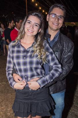 Juliana Fontoura e Gilmar Rodrigues (Romulo Juracy/Esp. CB/D.A Press)