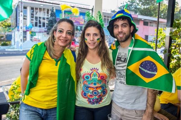 Christia Maia, Telma Weber e Leonardo Almeida (Romulo Juracy/Esp. CB/D.A Press)