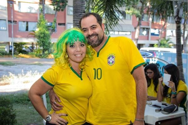 Giovana Casilo e Cesar Soares (Romulo Juracy/Esp. CB/D.A Press)