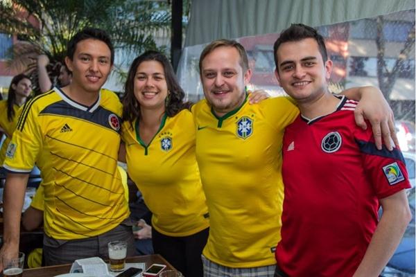Jorge Cristancho, Fernanda Dal Piaz, Gusttavo Marchetti e Oscar Beltran  (Romulo Juracy/Esp. CB/D.A Press)