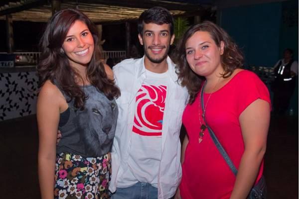 Alessandra Bertolino, Guilherme Medeiros e Kasia Bak (Romulo Juracy/Esp. CB/D.A Press)
