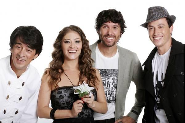 Banda Bicho de Pé, que se consagrou no programa Superstar marca presença no Arraial do Arena ( Vladi Fernandes/Divulgação)