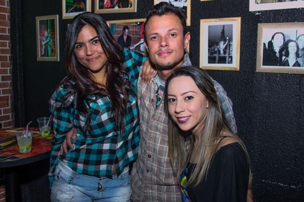 Carla Chaves, DJ Kasta e Carla Farias  (Romulo Juracy/Esp. CB/D.A Press)