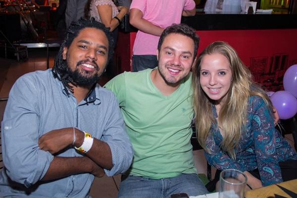 Daniel Dias , Lucas Resende e Esther Ottoni (Romulo Juracy/Esp. CB/D.A Press)