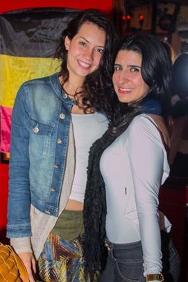 Lilian Gitirana e Mila Costa (Romulo Juracy/Esp. CB/D.A Press)