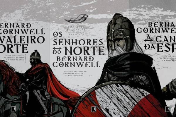 As Crônicas Saxônicas, do autor Bernard Cornwell, é um romance que mistura ficção e histórias sobre lealdades divididas, amor e heroísmos (Reprodução/Internet)