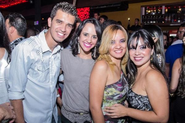 Adriano Sales, Deise Melo, Luana Monteiro e Thaís Cavalcante (Romulo Juracy/Esp. CB/D.A Press)