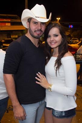 Rodrigo Carvalho e Natália Liparizi (Romulo Juracy/Esp. CB/D.A Press)