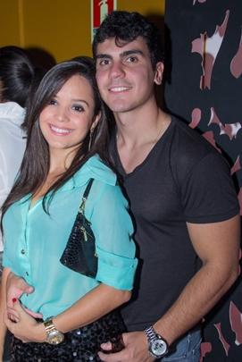 Rafaela Diniz e Gabriel Mota (Romulo Juracy/Esp. CB/D.A Press)