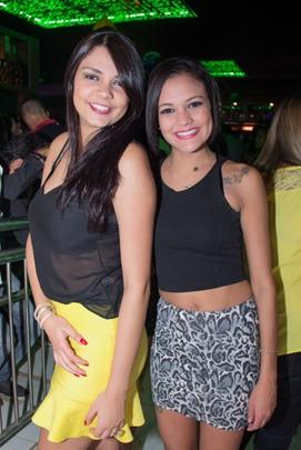 Lorena Lima e Andressa Cristina (Romulo Juracy/Esp. CB/D.A Press)