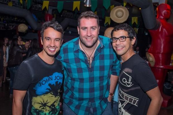 Cesar Rebouças, Alex Macedo e Adriano Freitas (Romulo Juracy/Esp. CB/D.A Press)
