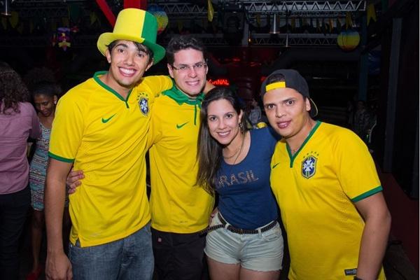 Douglas Nunes, Bruno Maltez, Jéssica Carvalho e Paulo Soares (Romulo Juracy/Esp. CB/D.A Press)