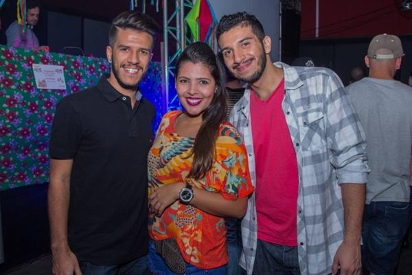 Jadson Nobre, Liliane Cunha e Jader Cardoso (Romulo Juracy/Esp. CB/D.A Press)