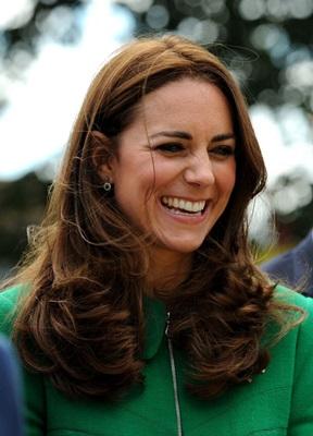 Segundo Jessica, Kate está mudando o cabelo para tentar disfarçar o aumento das bochechas (Anna Gowthorpe/AFP Photo)