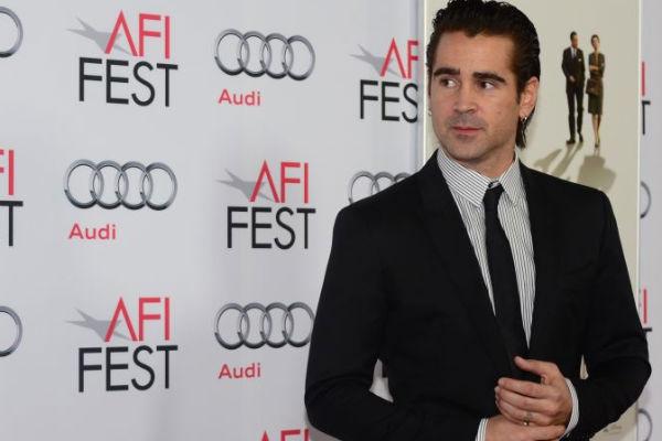 Colin Farrell estaria negociando com os executivos da emissora (AFP PHOTO/Frederic J. BROWN )