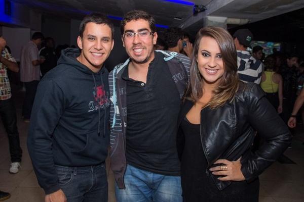 Caio Vieira, Paulo Solano e Gabriela Maurer (Romulo Juracy/Esp. CB/D.A Press)