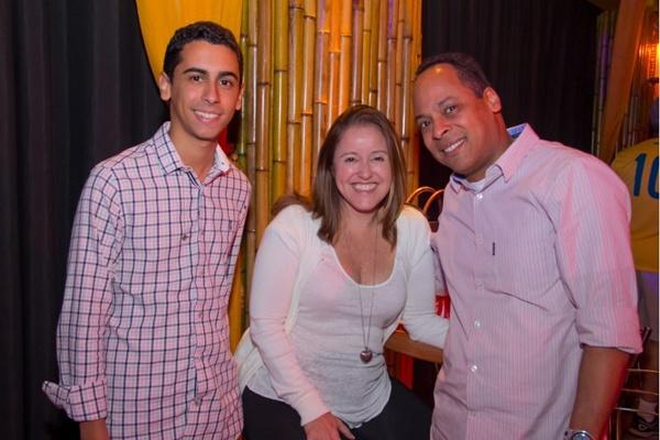 Vitor Neves, Luciana Severo e Geraldo Neves (Romulo Juracy/Esp. CB/D.A Press)