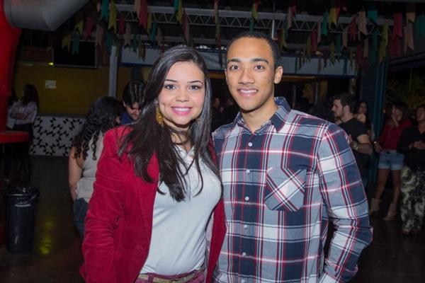 Bruna Dias e Rafael Ribeiro (Romulo Juracy/Esp. CB/D.A Press)