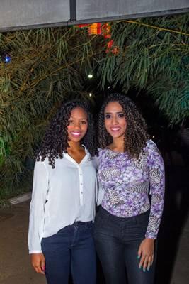 Bárbara e Amanda Trindade (Romulo Juracy/Esp. CB/D.A Press)