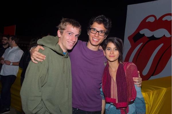 Paul Qeller, Leonardo Grogg e Juliana Jenkins (Romulo Juracy/Esp. CB/D.A Press)