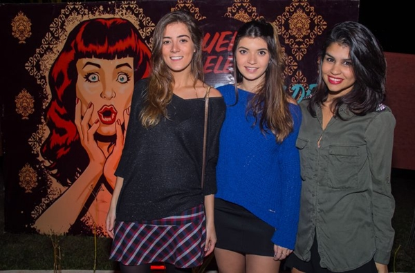 Aline Cupido, Caroline Pirula e Mariana Lustosa (Romulo Juracy/Esp. CB/D.A Press)