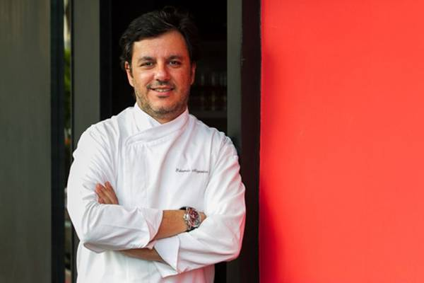 Eduardo Nogueira abriu nova unidade do Rosso Pasta & Grill, no Lago Sul  (Gilberto Evangelista/Divulgacao)