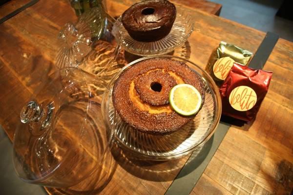 Bolo caseiro e café quentinho são a pedida do inverno no novo restaurante Nolita  (Glaucio Dettmar/Divulgação)