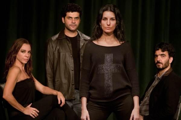 Peça sobre angústias do cotidiano tem estreia nacional nos palcos de Brasília  ( Dalton Valériuo/CB/D.A Press)