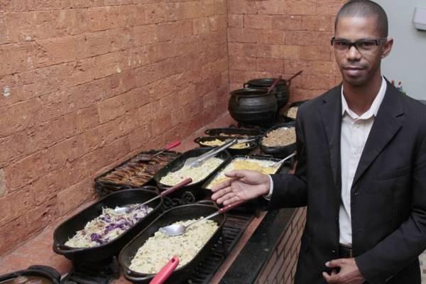 Tapiocaria e restaurante Raízes do Sertão, do Chef Durley Soares ( Ana Rayssa/Esp. CB/D.A Press)
