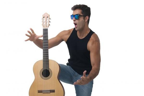 Músico Fabio Cavanha (Tiago Albernaz/CB/D.A Press)