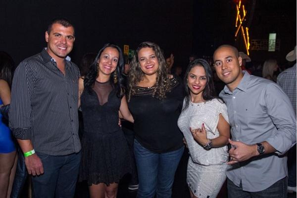 André Guedes, Gisele Sá, Kelly Siqueira, Heloisa Siqueira e Ronald Lopes (Romulo Juracy/Esp. CB/D.A Press)