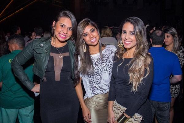 Rosi Jardim, Raiara Melo e Jéssica Melo (Romulo Juracy/Esp. CB/D.A Press)