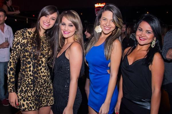 Sâmara Maressa, Amanda Barbosa, Caroline Cardoso e Elaine Cristina (Romulo Juracy/Esp. CB/D.A Press)