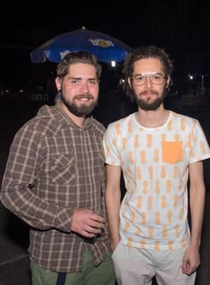 Yuri Brandão e Pelindo Sodré (Romulo Juracy/Esp. CB/D.A Press)