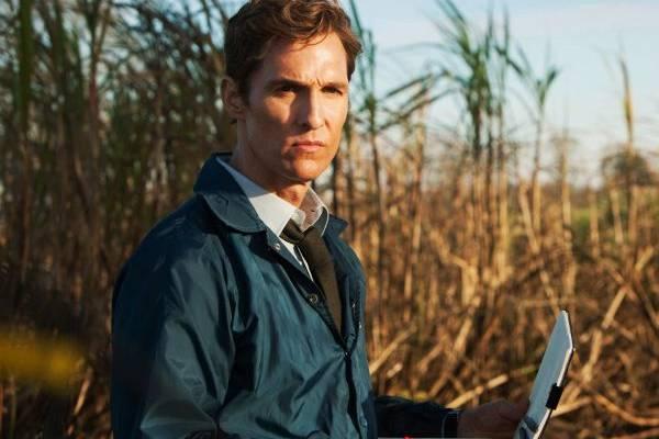 Cena da série True Detective da HBO com Matthew McConaughey (HBO/Divulgação)