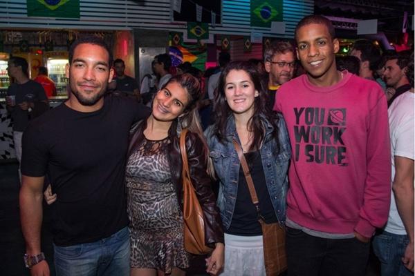 Wallace Mendes, Nicoly Amaral, Gabriela Otero e Robert Placido (Romulo Juracy/Esp. CB/D.A Press)