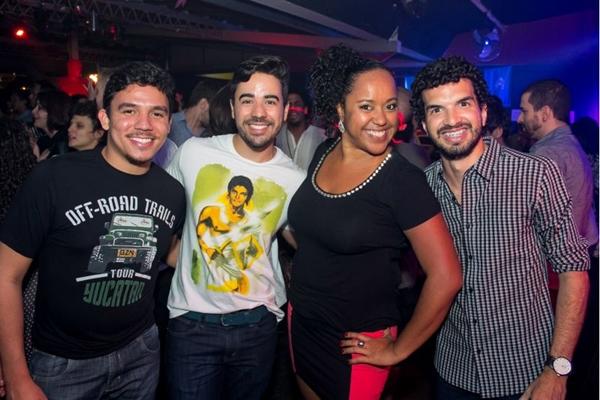 Joelmir Ferraz, Lucas Mesquita, Ana Lúcia Fontes e Antonio Lemos (Romulo Juracy/Esp. CB/D.A Press)