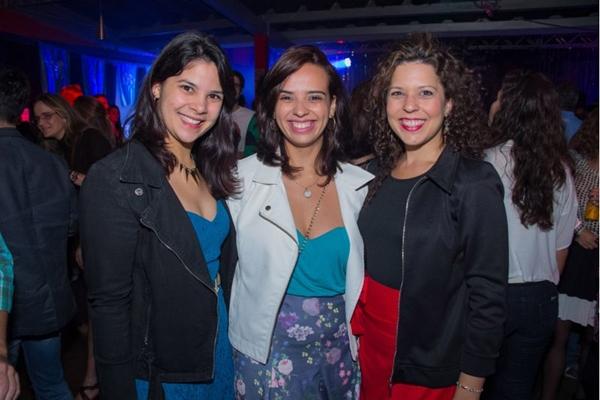Paula Hesketh, Gabriela Abreu e Renata Bittencourt (Romulo Juracy/Esp. CB/D.A Press)