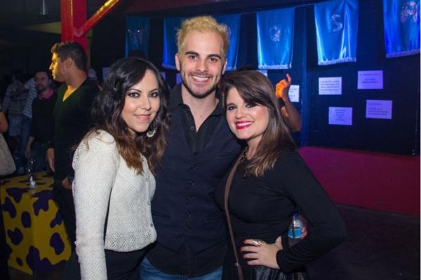 Ana Carolina Viana, Daniel Machado e Ladyane Ramos (Romulo Juracy/Esp. CB/D.A Press)