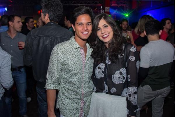 João Lobato e Rafaela Lima (Romulo Juracy/Esp. CB/D.A Press)