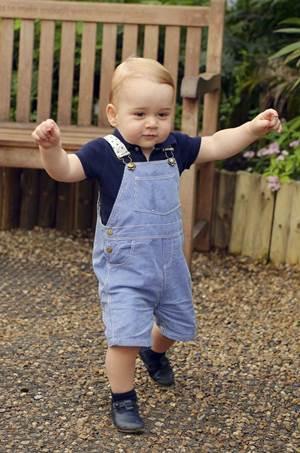 Príncipe George vai comemorar o aniversário com os pais e familiares próximos (John Stillwell/Pool/Reuters)