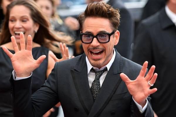 Astro da franquia 'Homem de ferro' faturou US$ 75 milhões no ano passado ( AFP PHOTO/LEON NEAL )