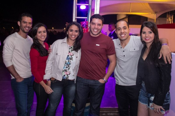 Fernando, Adriana, Amanda Modesto, Daniel Pedro, Augusto Henrique e Fernanda Hottum (Romulo Juracy/Esp. CB/D.A Press)