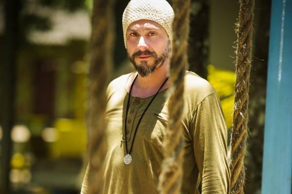 Alexandre Nero, como Hermes, em Além do Horizonte (Alex Carvalho/TV Globo)