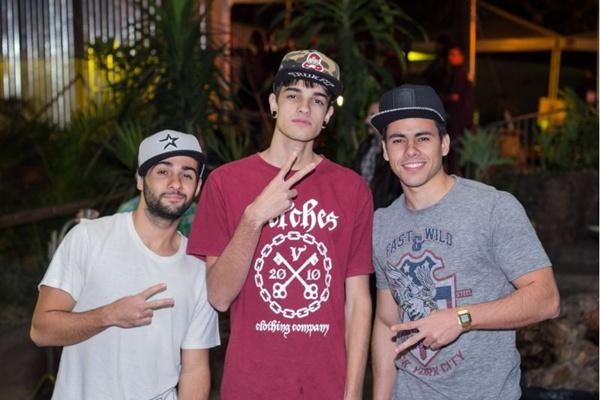 Leonardo Bicalho, Vinicius e Rodolfo Madureira (Romulo Juracy/Esp. CB/D.A Press)