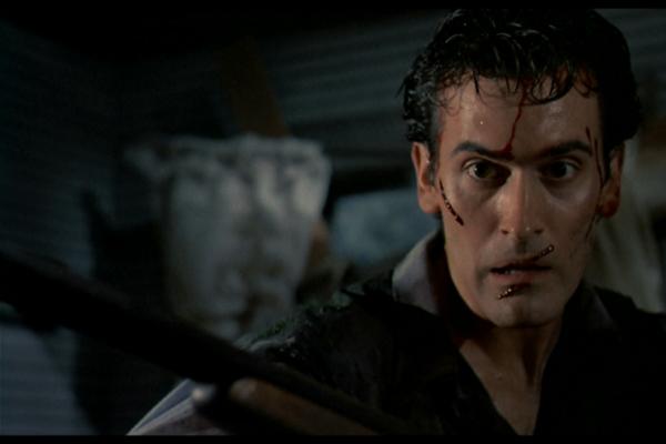 Bruce Campbell em cena de 'The evil dead' ( New Line Cinema/Divulgação)