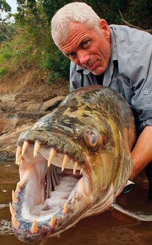 Jeremy Wade encara as espécies mais medonhas de água doce ( Discovery Channel/Divulgação)